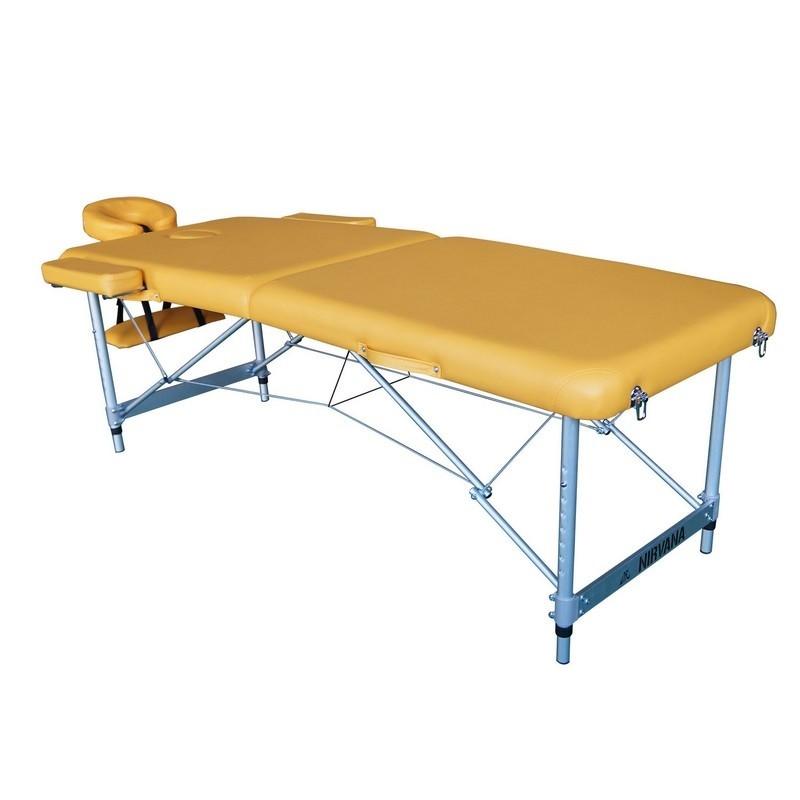 Массажный стол DFC Nirvana, Elegant Luxe TS2010_M горчичный