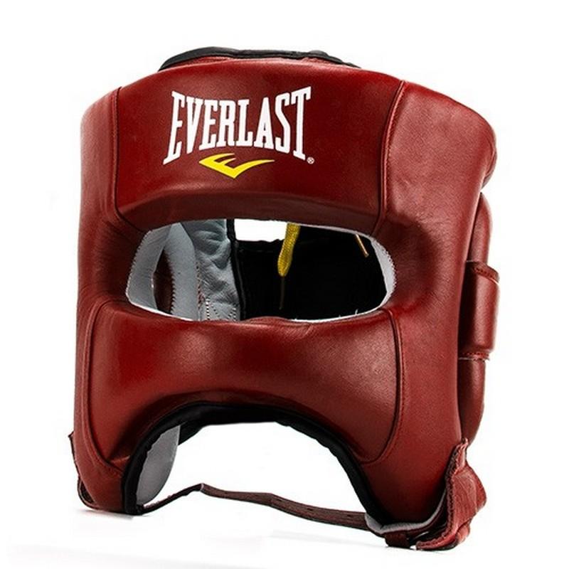 Шлем Everlast Elite Leather, красный