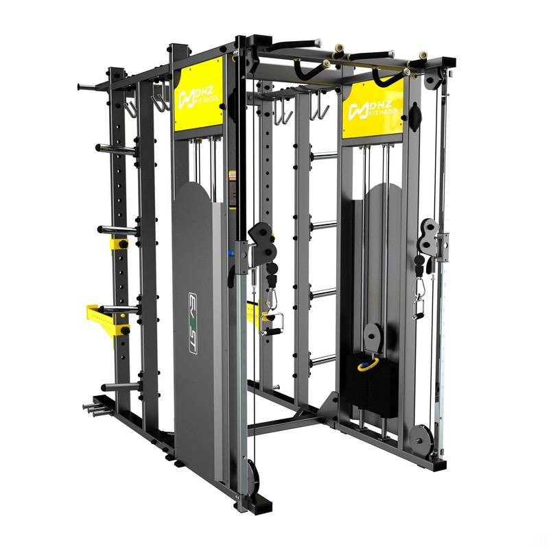 Силовая рама DHZ Back Stack, стек 2х100 кг R-2083 (Power Cage)