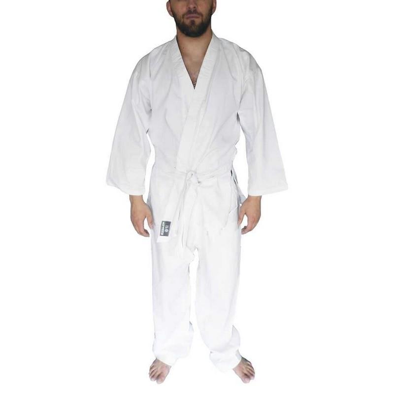 Кимоно для карате отбеленное Atemi плотность 220 гр/м2 AX1