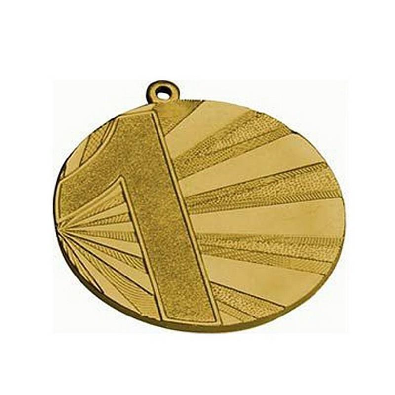 Медаль MMC7071/G d7см G-2,5мм 1 место