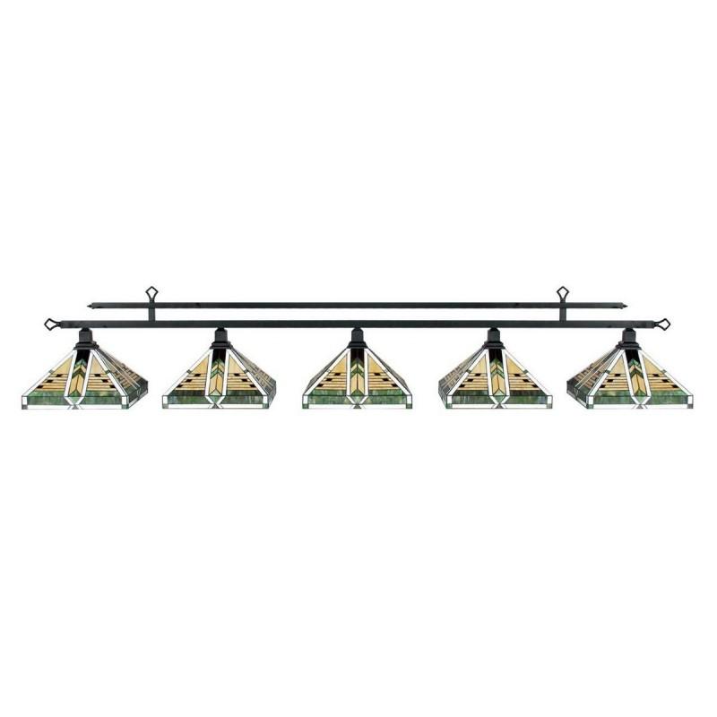 Лампа на пять плафонов R.A.M. Taliesin MIV-B94-ESP