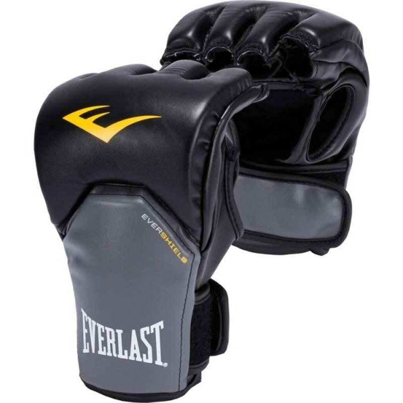 Перчатки Everlast Competition Style MMA черн/сер