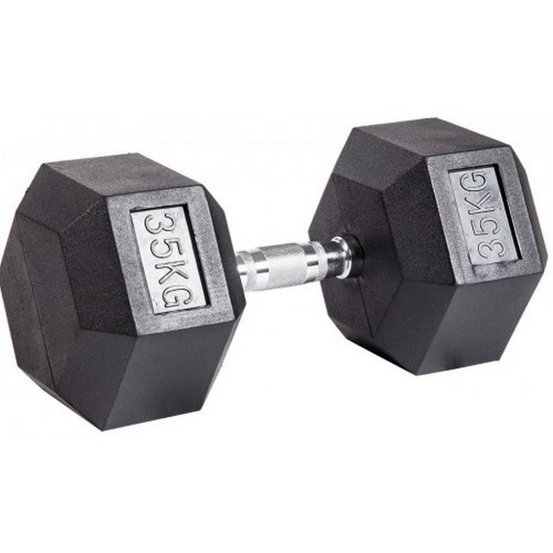 Гантель шестигранная (гексагональная) Stecter 35 кг 2311