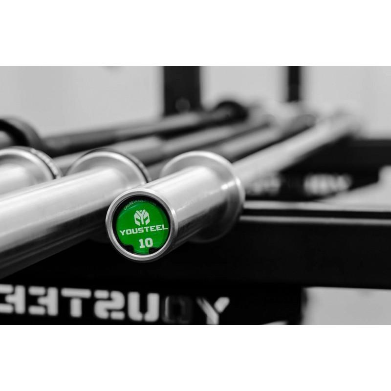 Гриф YouSteel Training Bar XF-10, 10кг, длина 1680мм, D25мм