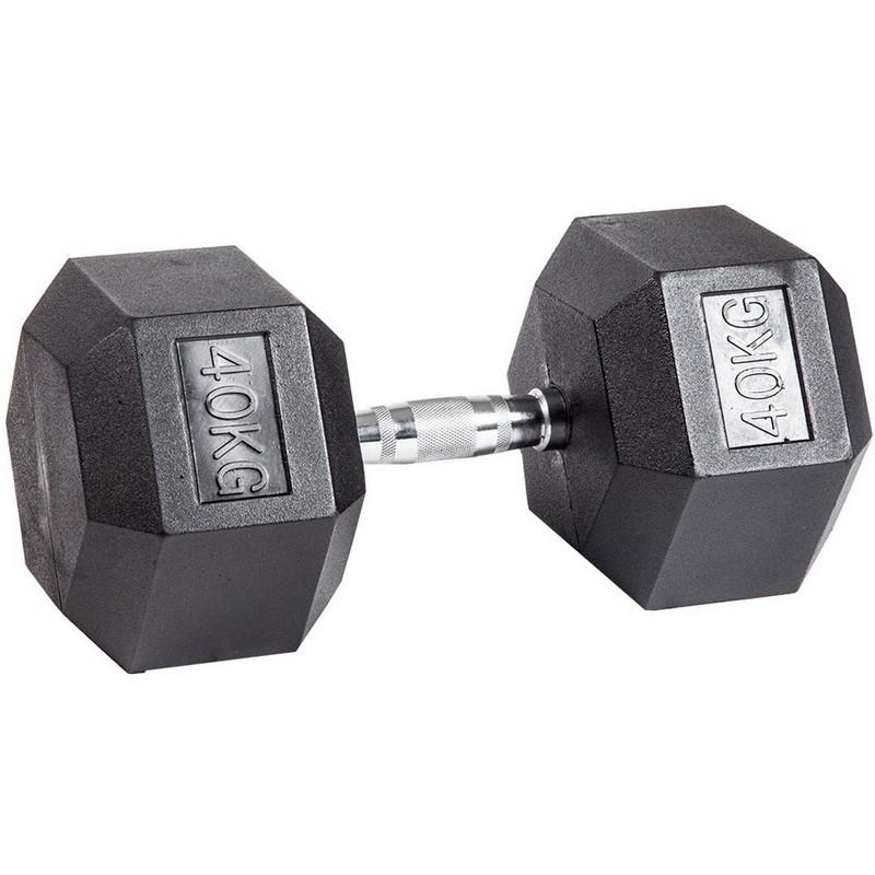 Гантель шестигранная (гексагональная) Stecter 40 кг 2313
