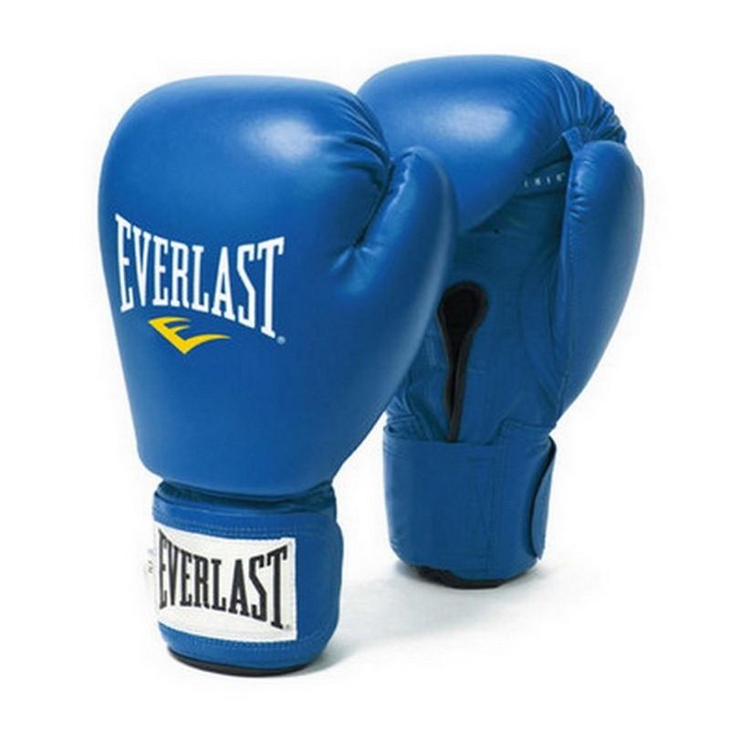 Боксерские перчатки Everlast Amateur Cometition любительские 641206-10 PU синие 12 oz