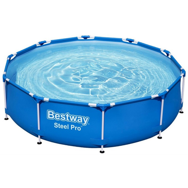 Каркасный бассейн круглый 305х76см Bestway Steel Pro 56408