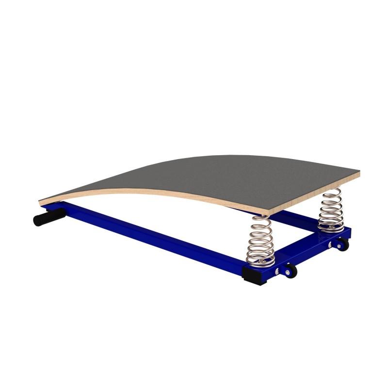 Мостик гимнастический ZSO подкидной гнутый (металл)