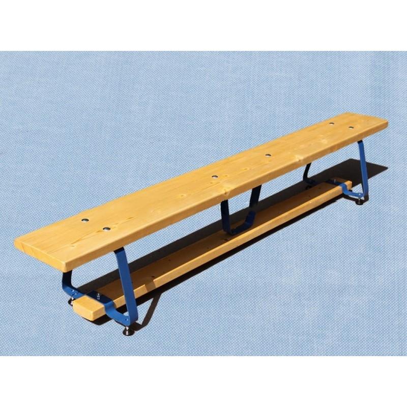 Скамейка гимнастическая на металлических ножках 400см Гимнаст 9.78