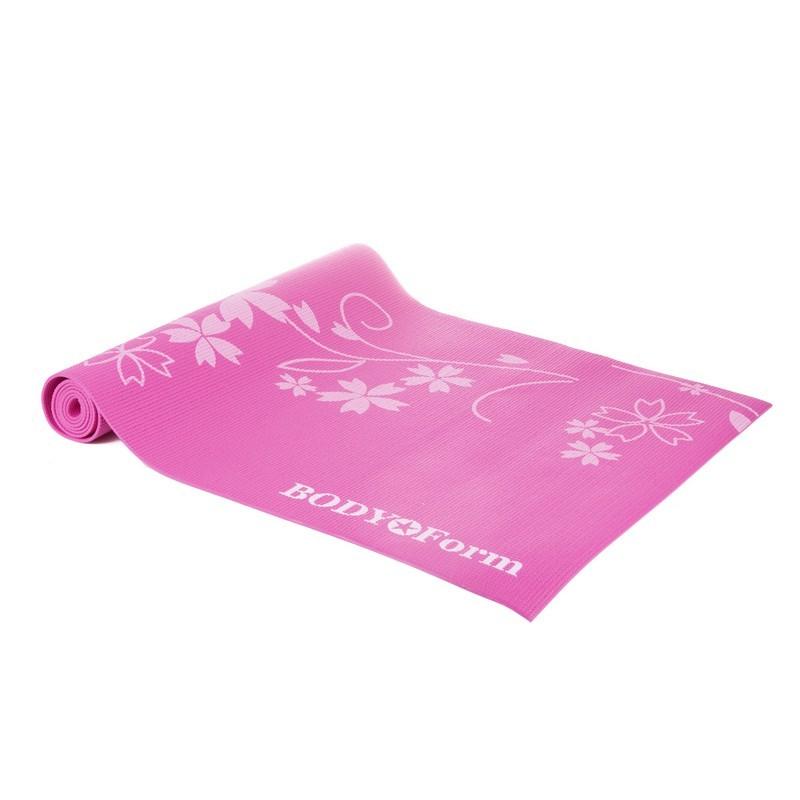 Коврик гимнастический Body Form 173x61x0,4 см BF-YM02 розовый