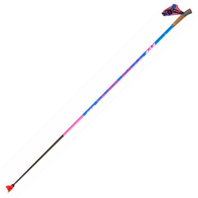 Лыжные палки KV+ Tornado Clip Pink Карбон 100% 9P004QP