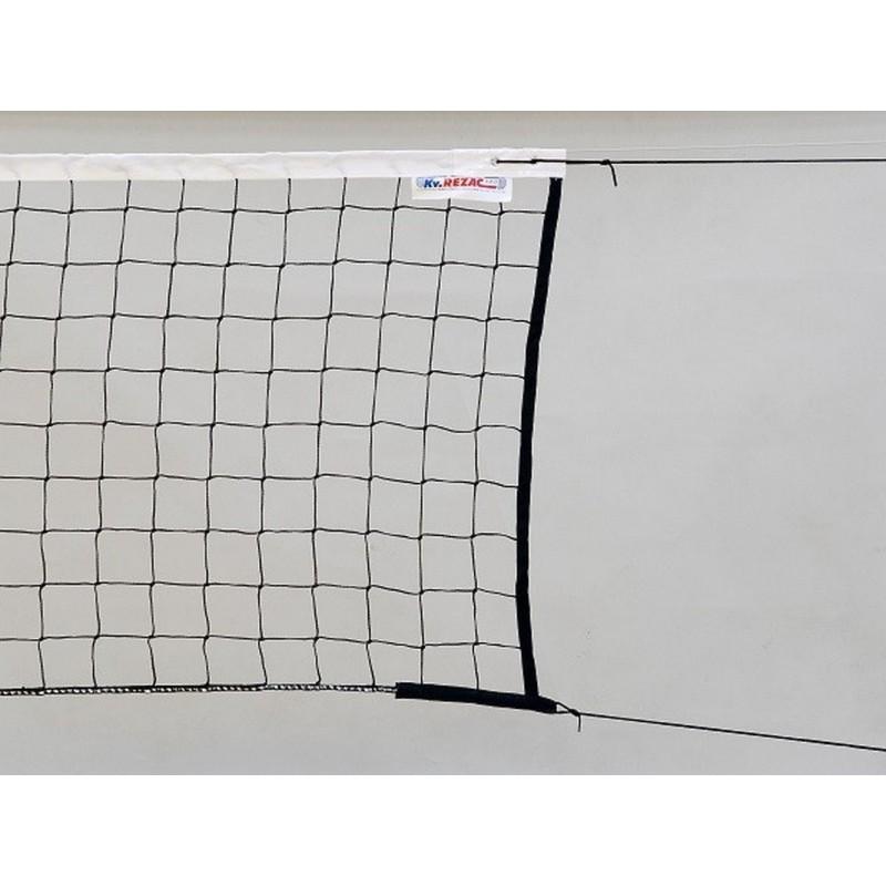 Сетка волейбольная Kv.REZAC 15955431, нить 3мм ПП, черный