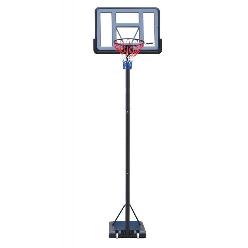 Мобильная баскетбольная стойка Proxima 44 quot;, поликарбонат, S003-21