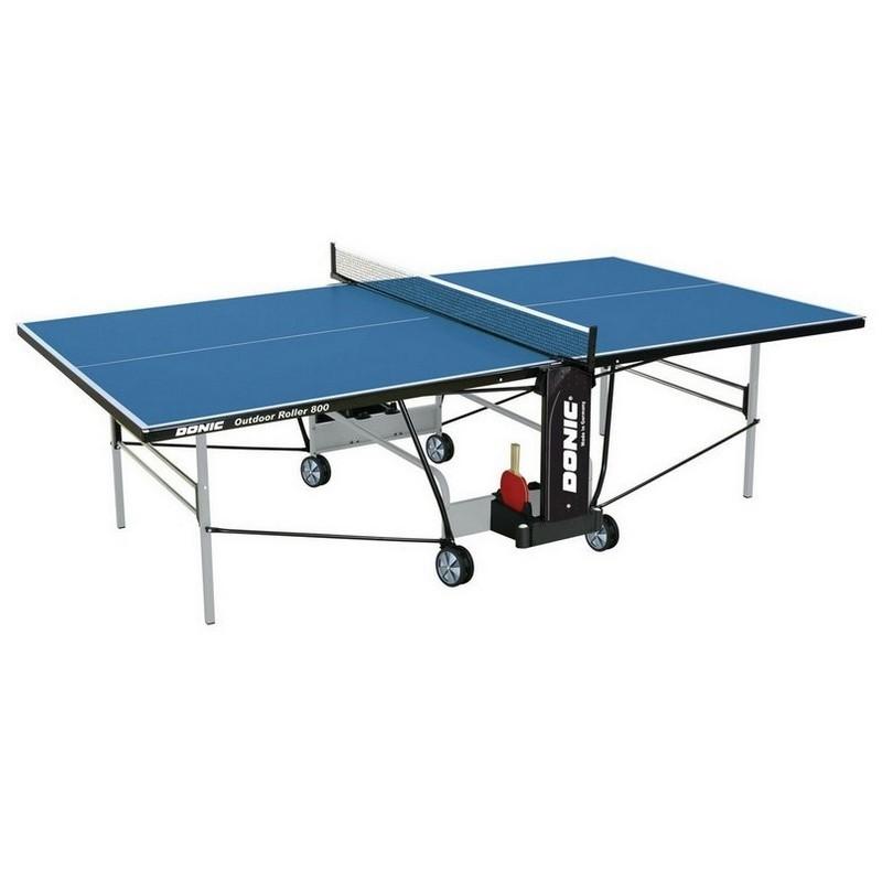 Всепогодный теннисный стол Donic Outdoor Roller 800 с сеткой