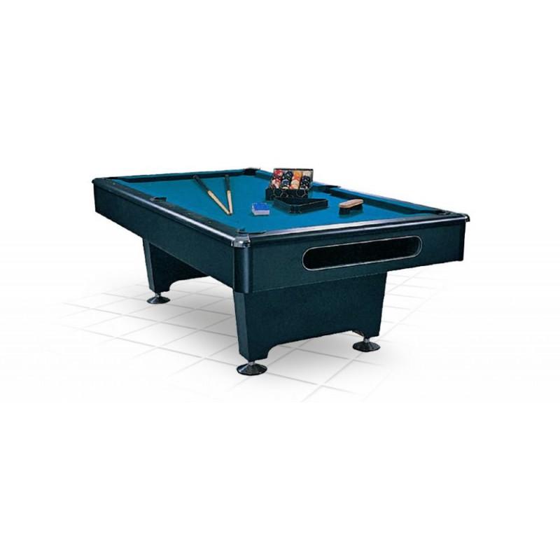 Стол / пул Weekend Eliminator 7 ф (черный) в комплекте, аксессуары + сукно 55.005.07.0