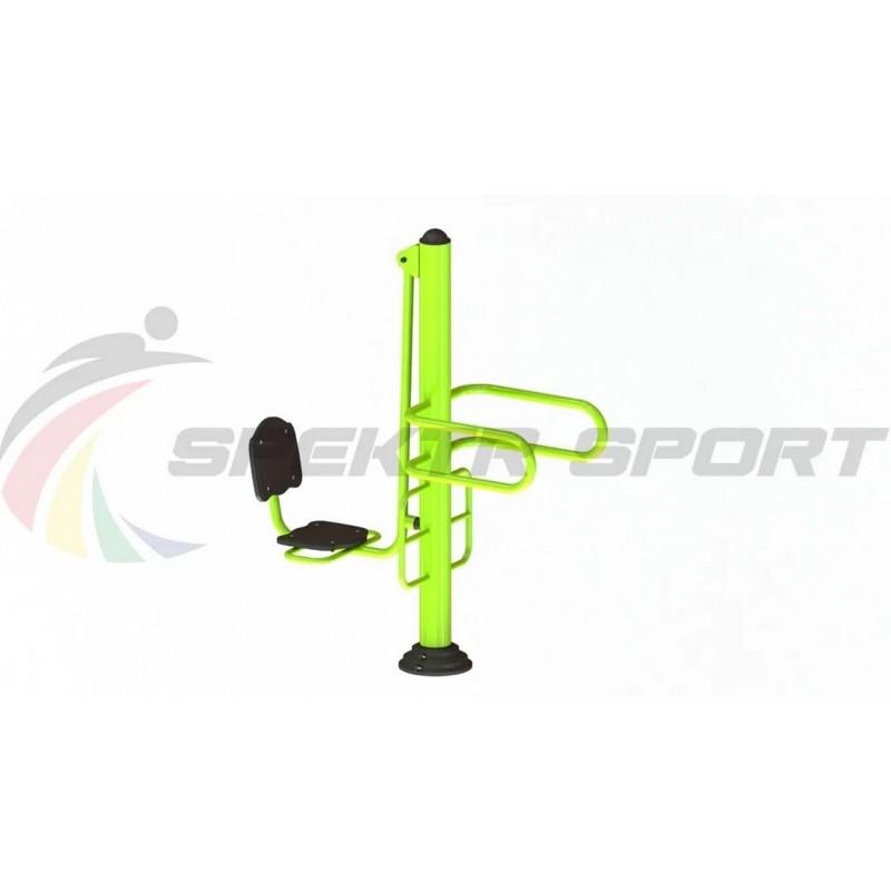 Уличный тренажер взрослый Жим ногами+Брусья для двоих Spektr Sport ТС 206