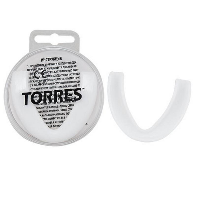 Капа Torres PRL1023WT, термопластичная, евростандарт CE approved, белый