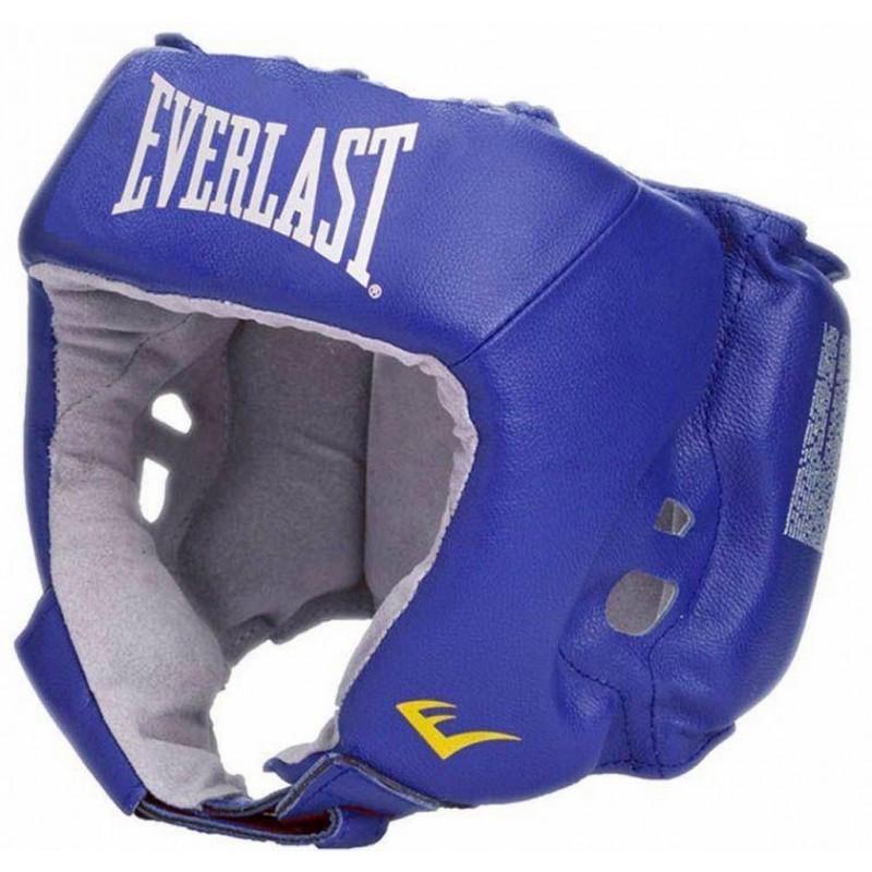 Шлем Everlast Amateur Competition 610000-10 PU для любительского бокса, синий