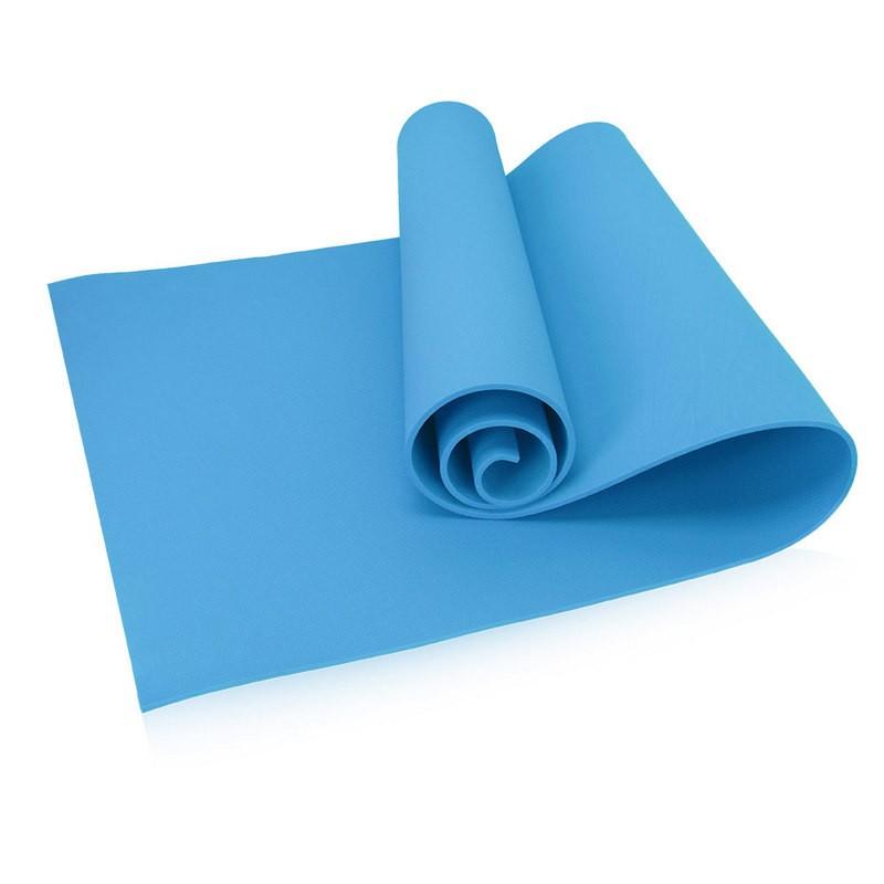 Коврик для йоги 173х61х0,8 см (синий) B32217