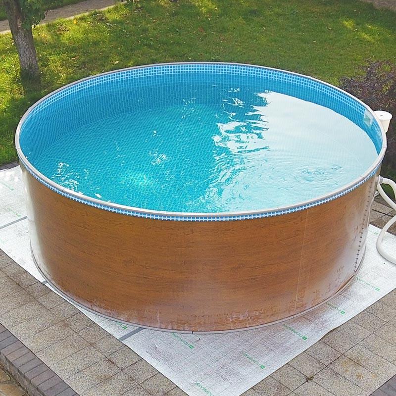 Круглый бассейн Лагуна 305х125см Светло-серый (RAL 7004) ТМ236/30519