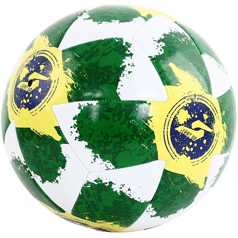 Мяч футбольный для отдыха Start Up E5127 Brazil р.5