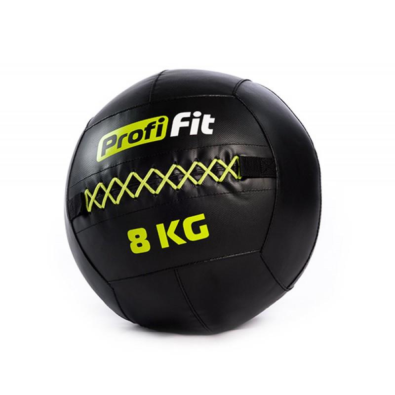 Медицинбол набивной (Wallball) Profi-Fit 8 кг