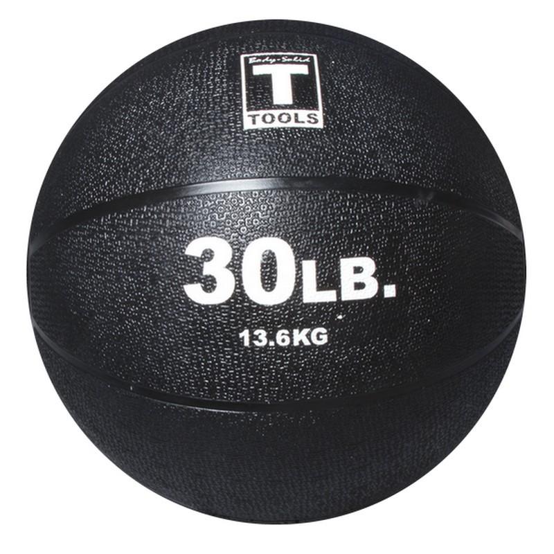 Тренировочный мяч Body Solid 13,6кг BSTMB30 черный