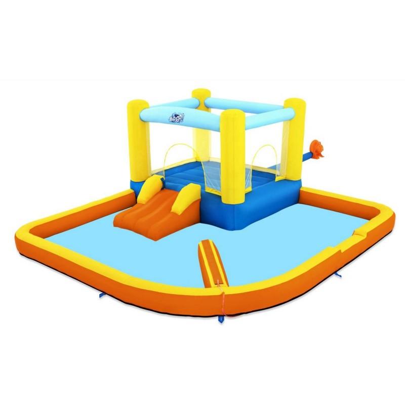 Игровой центр 365х340х152см Bestway Beach Bounce с горкой 53381