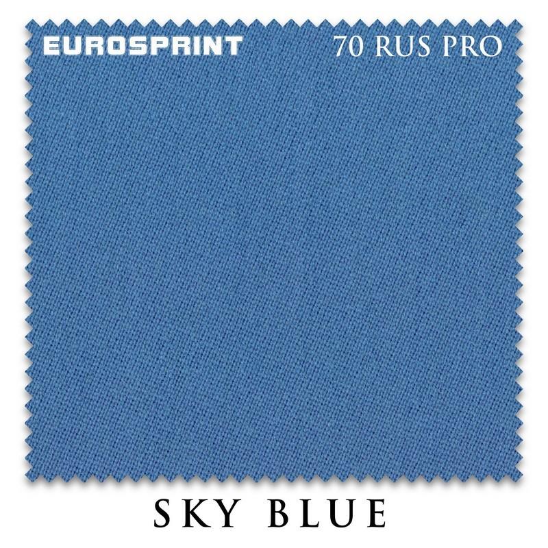 Сукно Eurosprint 70 Rus Pro 198см Sky Blue 11917
