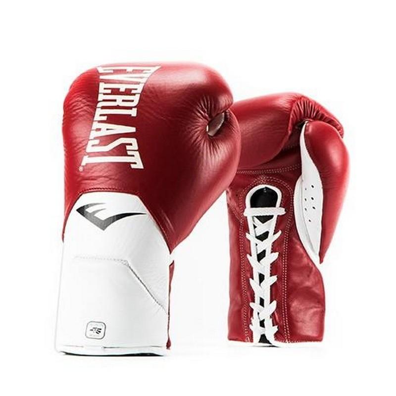 Перчатки боевые Everlast MX Elite Fight 10 oz красный P00000677