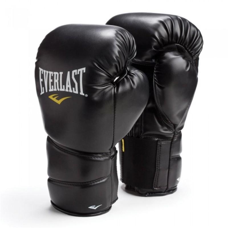 Перчатки тренировочные Everlast Protex 2 8oz SM черный 3108SMU