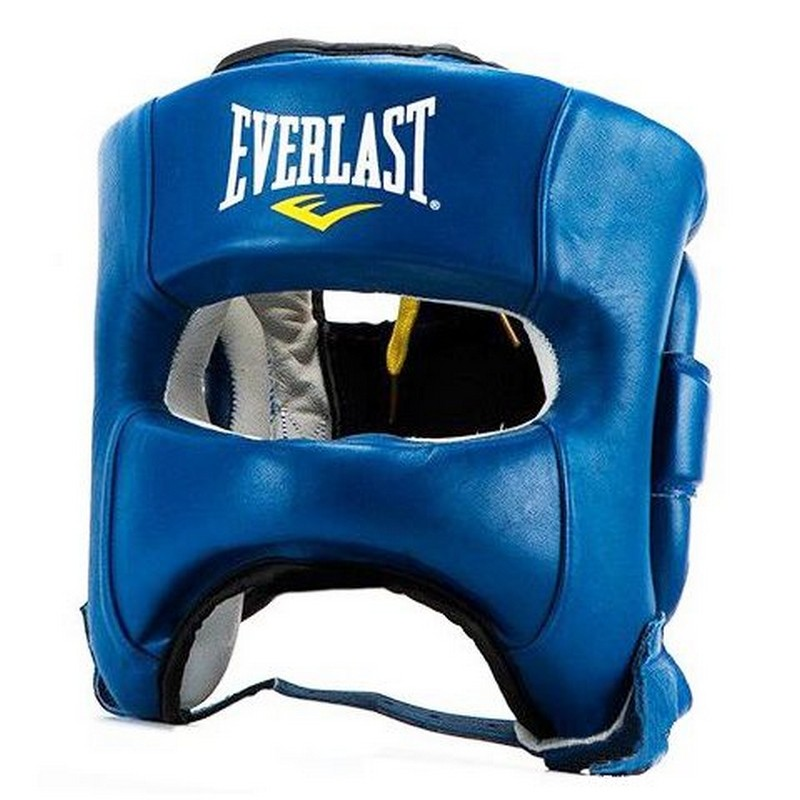 Шлем Everlast Elite Leather, синий