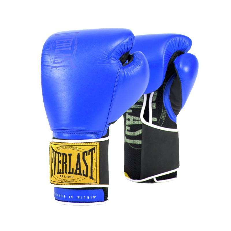 Боксерские перчатки Everlast 1910 Classic 14oz синий P00001715