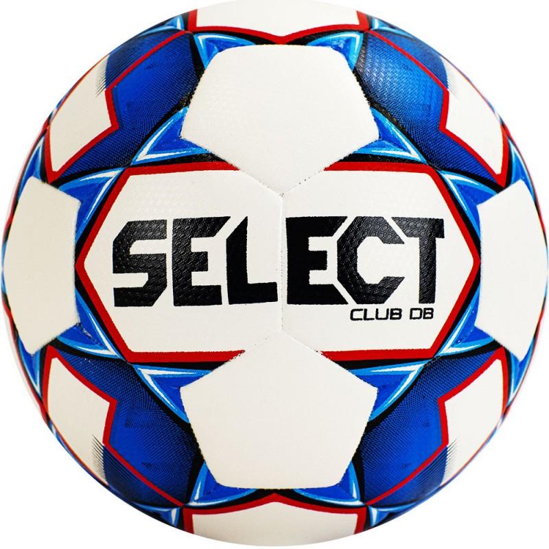 Мяч футбольный Select Club DB 810220-002, р.4, бело-сине-крас