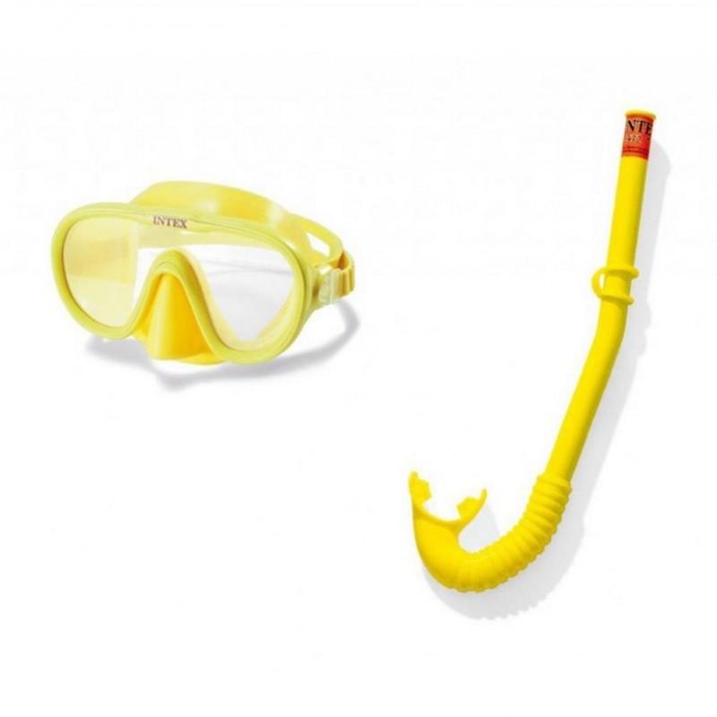 Набор маска, трубка Intex Adventure Swim Set 55642