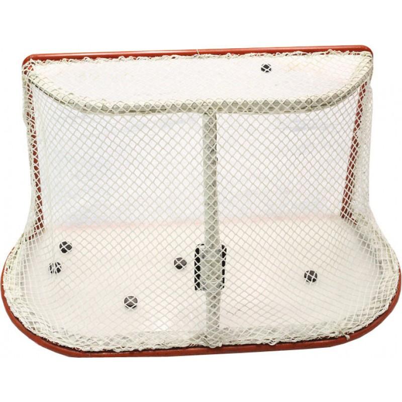 Сетка хоккей ZSO Д=5мм, цвет белый. Для ворот 125x185x130 см. С повышенной светостабилиз-ПА