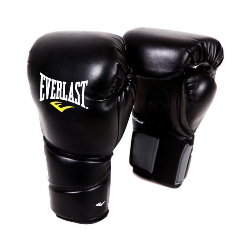 Перчатки тренировочные Everlast Protex2 12 oz LXL черный 3112LXLU