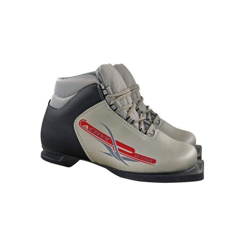 Лыжные ботинки NN75 Active М350 серебро