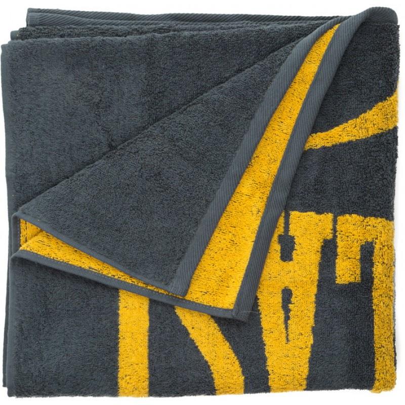 Полотенце Everlast 130x70 сер/желт. 3502-2121
