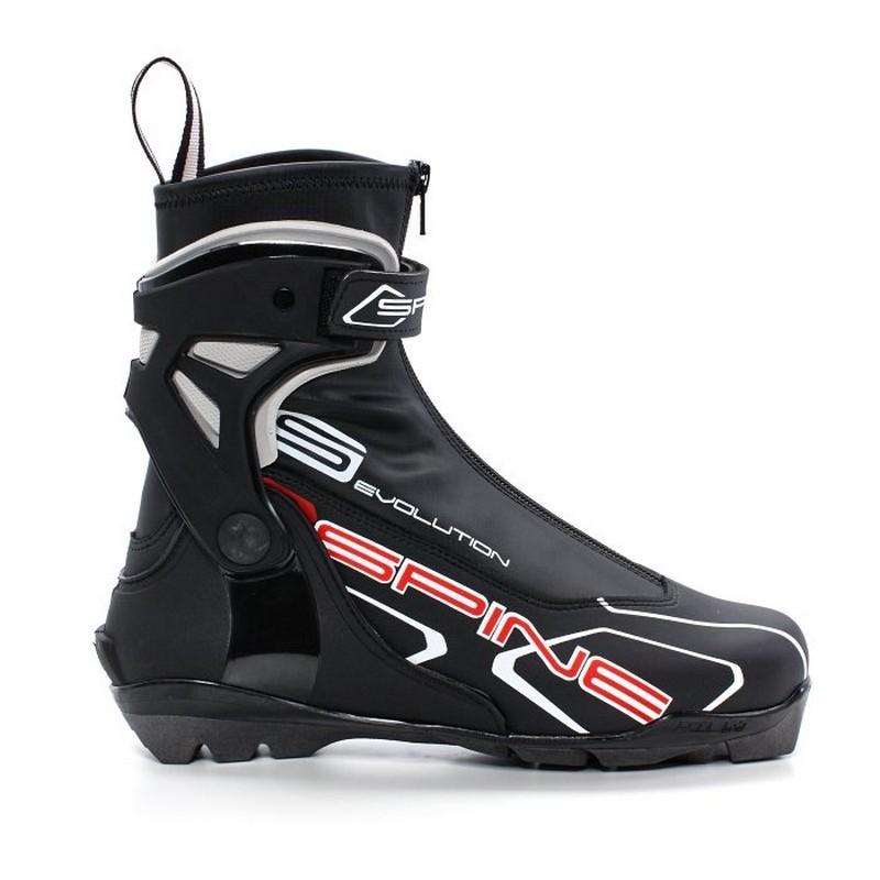Лыжные ботинки SNS Spine Pilot Evolution 184 черный