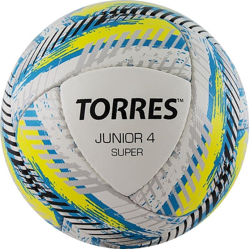 Мяч футбольный Torres Junior-4 Super HS F320304 р.4