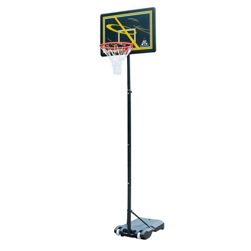 Мобильная баскетбольная стойка DFC 80х58см KIDSD2
