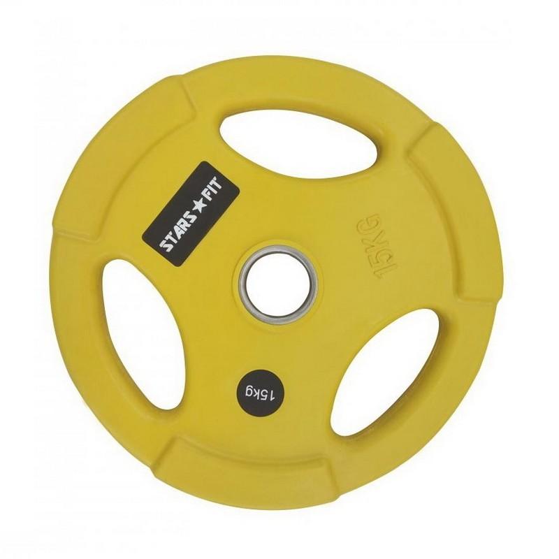 Диск олимпийский 15 кг Grome Fitness WP074C цветной