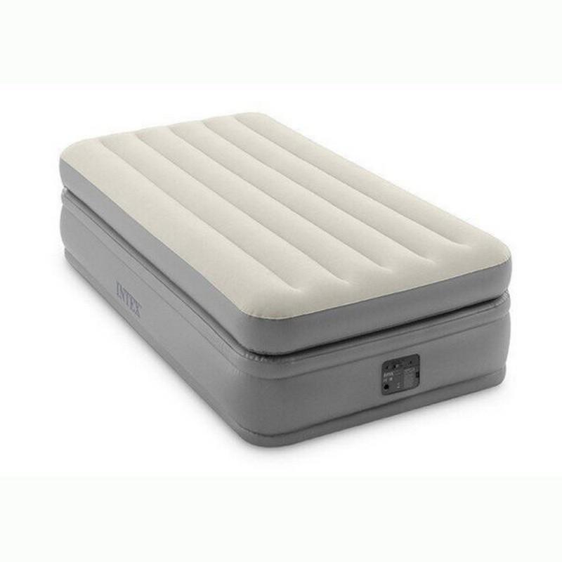 Надувная кровать Intex Prime Comfort Elevated 99х191х51см, встроенный насос 220V 64162