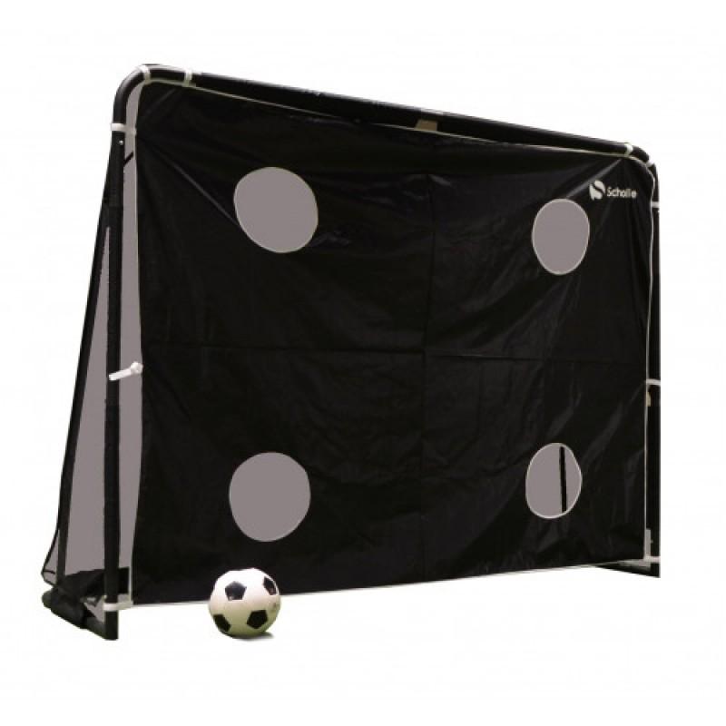 Футбольные ворота с тренировочным экраном Scholle F184