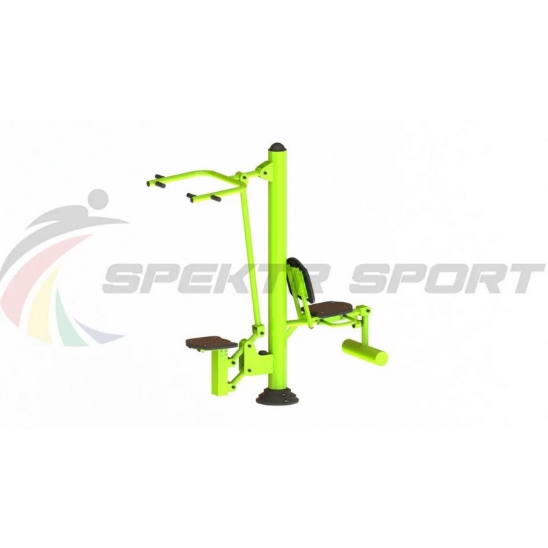 Уличный тренажер взрослый Подтягивание + Флекс для двоих Spektr Sport ТС 203
