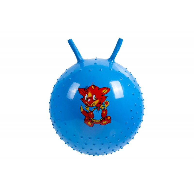 Детский массажный гимнастический мяч Bradex синий DE 0540