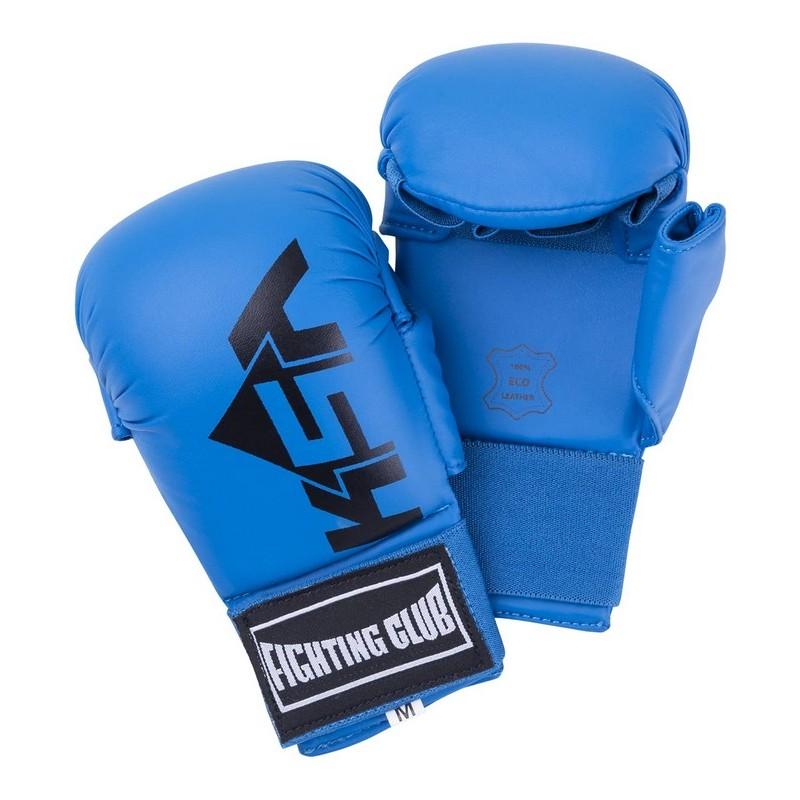 Накладки для карате KSA Kick Blue, к\з