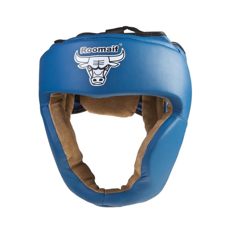 Шлем боксерский Roomaif RHG-140 PL синий